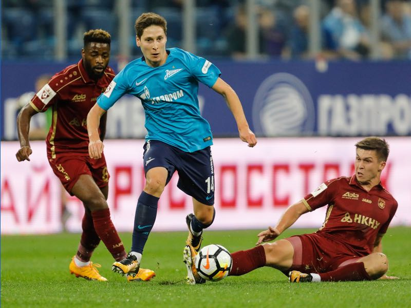 one-of-football-index-cheap-players-daler-kuzyaev-runs-with-the-ball